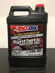 Amsoil Signature Series 5w-30 Synthetic Motor Oil 1 Gallon 25k Mile