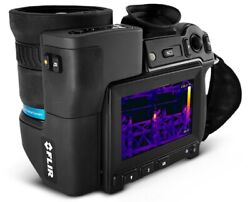 T1020 High-definition Thermal Camera With Bluetooth And Wi-fi 28anddeg And 45anddeg Lens