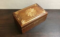 Vintage Casket Box Tree Wood Cultures And Ethnicities Ussr Soviet A