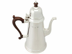 Sterling Silver Coffee Pot George I Style Vintage 1975