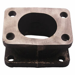 Cast Iron Turbo Adapter Flange For Garrett T3 To T4 Turbocharger With 15 Degree