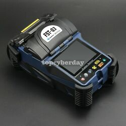 Optical Fiber Fusion Splicer Machine Handheld 3.5 Lcd Display For Sm Mm Ds Nzds
