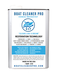 Boat Cleaner Pro Fiberglass Cleaning Haze Remover Dirty Shore Power Cords