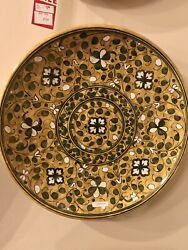 Florence Tuscan Hand-painted Ceramic Decorative Plate
