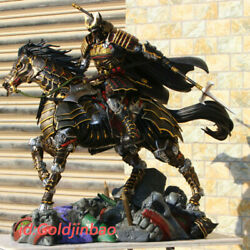 Ronin Batman On Horse Resin Model 1/4 Scale Painted Statue In Stock Custom-made