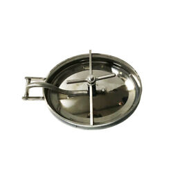 Intbuying 304 Stainless Steel Oval Manway Tank Door Manhole Cover 430330mm