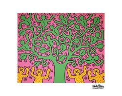 Keith Haring KH01 Tree Contemporary Pop Art Poster Print 14x11 $14.99