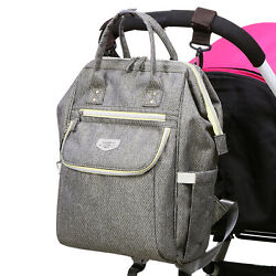 LAND Mommy Backpack Diaper Bags Multifunctional Baby Nappy Bag $19.99