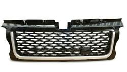 2006-2009 Range Rover Sport Front Grille Black Silver Ab2b