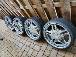 Mint Forte 22 Rims With Tires