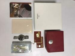 Omega Speed Master Date Manual Winding Black Tachymeter Watch Menand039s