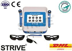 Red And Ir Two Probes Touch Screen Low Level Laser Therapy Physiotherapy Machine