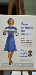 Wwi Posters Originals - Womenand039s Army Corp