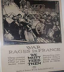Wwi And Wwii Posters Originals - Wwi War Rages In France