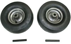 Set Of 2 Gravely Ariens 07101105 11x6.00-5 Tire And Wheel Assembly Fits Ikon Xl