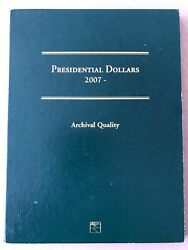 Complete Set Of Presidential One Dollar Coins /album 2007 To 2016 40