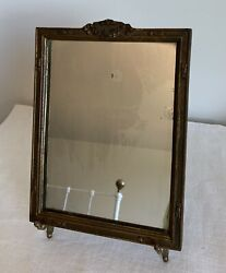 Antique Rochester Ny Francis Metal Door And Window Co. Mirror Advertising 1919