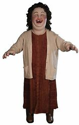 Halloween Lifesize Animated Laughing Creepy Giggling Sally Prop Haunted House