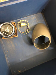 Nos 1954 1955 1st Chevrolet Accessory Truck Dash Clock Housing With Clock Gm