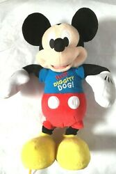 Mickey Mouse Clubhouse Hot Diggity Dog Dance And Play Mickey Disney Euc Free Ship