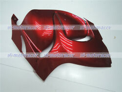 Right Side Fairing Fit For Suzuki Hayabusa 2008-2018 Gsx-r 1300 Pearl Red A02