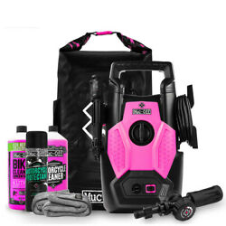 Muc-off Pressure Washer Bundle Perfect Motorcycle Motorbike Cycle With Cleaners