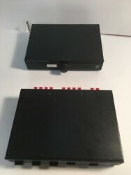 Niles Tvc-1 Tabletop Volume Control And Sps-4 Speaker Selection System Used