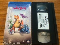 Steven Spielberg We're Back A Dinosaur's Story 1994 Vhs Animated