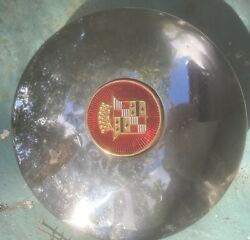 One 1937- 1940 Cadillac  Lasalle Hubcap, Choice Of Centers, Maybe 33, 34,35,36