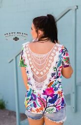 Canadian Crochet Top By Crazy Train