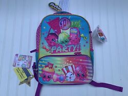 """New Shopkins Backpack 16"""" Full Size Book Bag Kids Tote For School $19.99"""