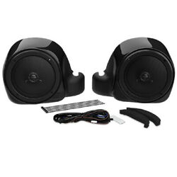 Hogtunes Lower Fairing Speaker Kit 2014 And Up Harley-davidson Twin-cooled Models