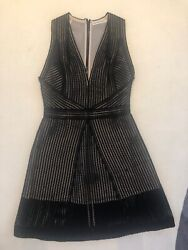 Kaufmanfranco Black Above The Knees Dress- Size Small