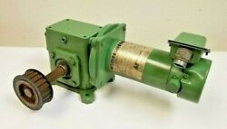 Magnetek Electric Dc Motor 1/4 Hp Variable Speed With Sterling Gear Box 50 To 1
