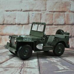 New 112 Scale 1940 Jeep Willys Mb Diecast Alloy Model Cars Vintage Toy By Well