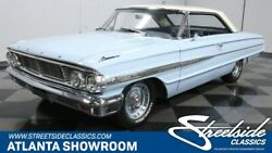 1964 Ford Galaxie 500 Fastback classic vintage chrome fomoco 500 fastback 352 v8 auto transmission skylight blu
