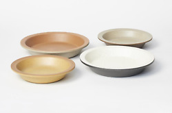 Harrison Mcintosh Bowls / Plates 4 For Metlox Architectural Pottery Modern Mcm