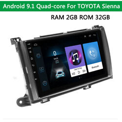 9inch Touch Screen Mp5 Android 9.1 2gb+32gb Stereo Gps Bluetooth Mirror Link Obd