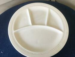 K G Luneville Grill Plates White X 4 Made France