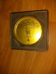 Vintage Advertising Thermometer Zembo Luncheon Club Ninth Anniversary 1936