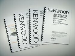 Kenwood Kd-74-f Turntable Owners Instruction Manual
