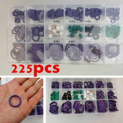 225 Pcs 18 Size Carmotion Car Air Condition O Rings Rubber Seal Ring Kit W/box
