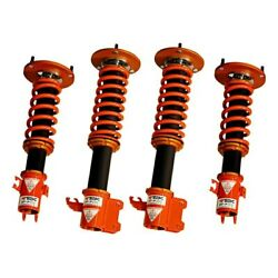 For Subaru Wrx Sti 13-14 Coilover Kit 1-2.5 X 1-2.5 Dt-p Front And Rear