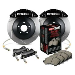 For Dodge Charger 06-10 Stoptech Touring Slotted 1-piece Front Big Brake Kit