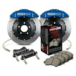 For Bmw 435i 14-16 Stoptech Performance Slotted 2-piece Front Big Brake Kit