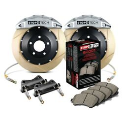 For Dodge Viper 92-95 Stoptech Performance Slotted 2-piece Front Big Brake Kit