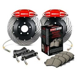 For Honda S2000 00-05 Stoptech Performance Drilled 2-piece Rear Big Brake Kit