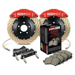 For Porsche Boxster 00-12 Performance Drilled 2-piece Front Big Brake Kit