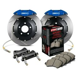 For Bmw X5 00-06 Stoptech Performance Slotted 2-piece Rear Big Brake Kit