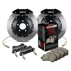 For Acura Tl 09-14 Stoptech Performance Slotted 2-piece Rear Big Brake Kit